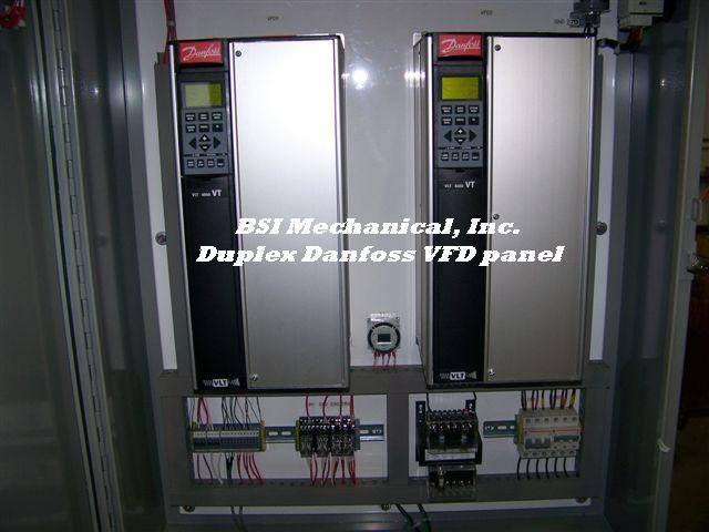 Danfoss Dual Drive Panel  U0026gt  Bsi Mechanical  Inc