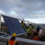 Oventrop Solar Panel Installation