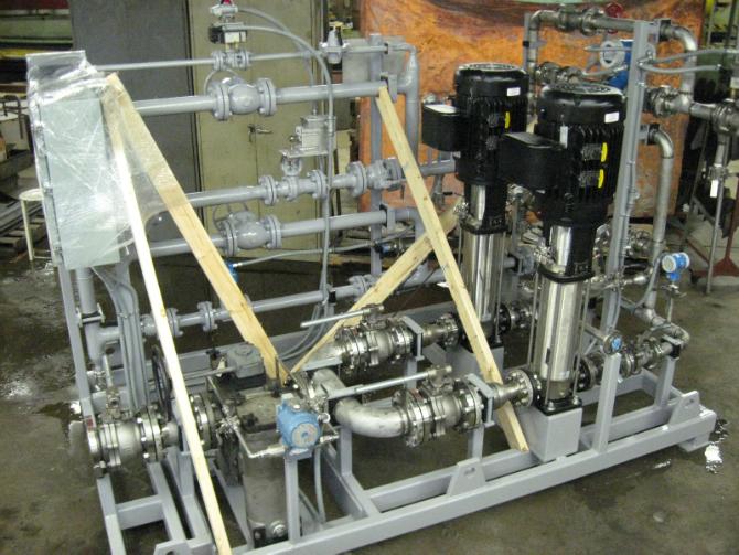 Packaged Pump Skids Gallery > BSI Mechanical, Inc